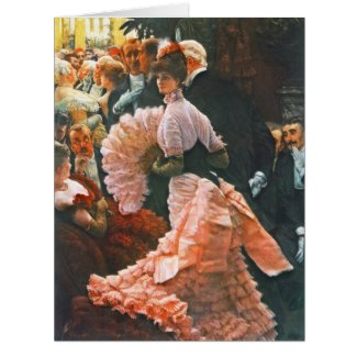 Ambitious Woman 1884 Large Greeting Card
