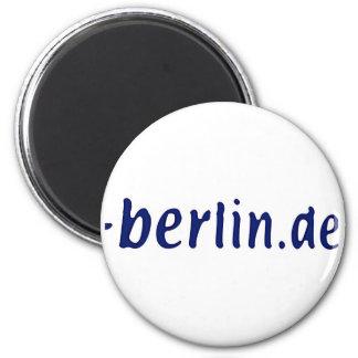 Ámbito de Berlín - berlin.de Imán Redondo 5 Cm
