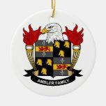 Ambler Family Crest Christmas Tree Ornament