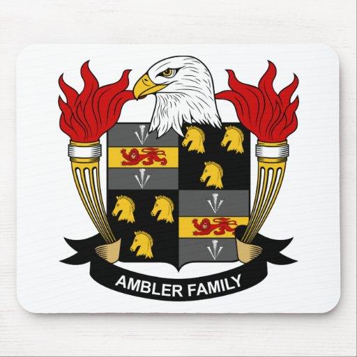 Ambler Family Crest Mouse Pad