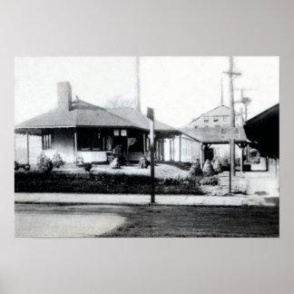 Ambler Pennsylvania Train Depot Poster