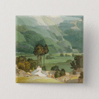 Ambleside, 1786 (w/c with pen and ink over graphit button