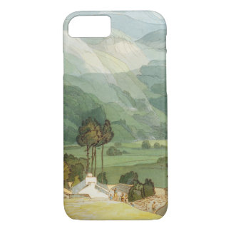 Ambleside, 1786 (w/c with pen and ink over graphit iPhone 7 case