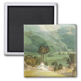 Ambleside, 1786 (w/c with pen and ink over graphit magnet