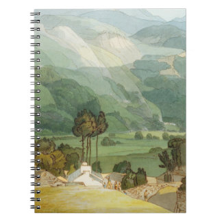 Ambleside, 1786 (w/c with pen and ink over graphit spiral notebook