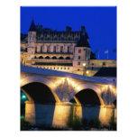 Amboise Castle, France, Customized Letterhead