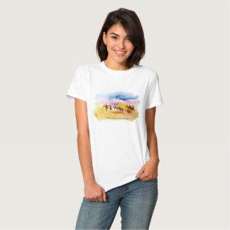 Amboseli Elephant Herd print T Shirt