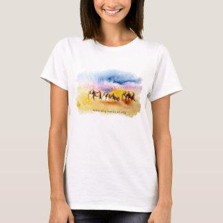 Amboseli Elephant Herd print T-Shirt