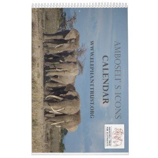 Amboseli Icons Calendar