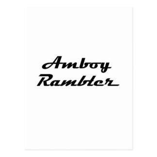Amboy Rambler Gear Postcard