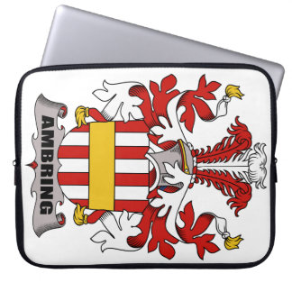 Ambring Family Crest Computer Sleeves