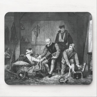 Ambroise Pare treating wounded soldiers Mouse Pad