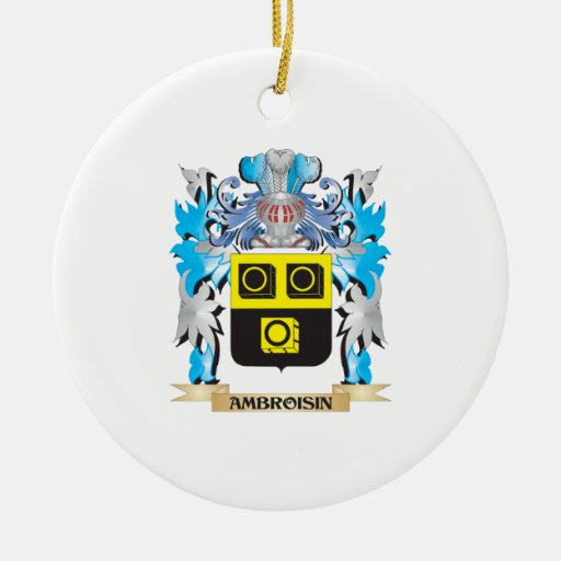 Ambroisin Coat Of Arms Christmas Ornament