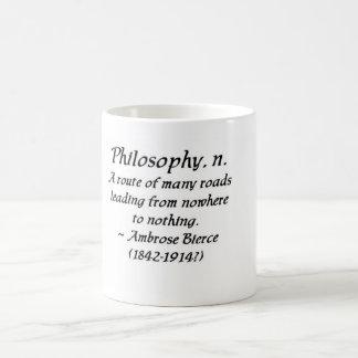Ambrose Bierce on philosophy Coffee Mug