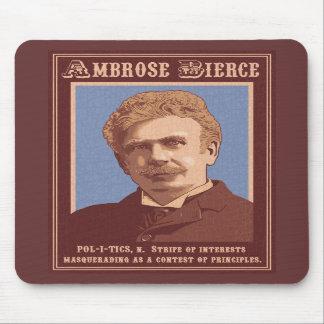 Ambrose Bierce -Politics Mouse Pads