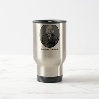 Ambrose Burnside and His Sideburns Travel Mug