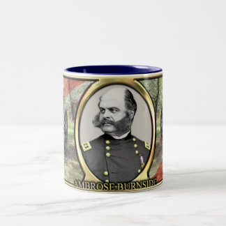 Ambrose Burnside Civil War Mug
