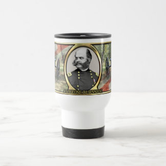 Ambrose Burnside Civil War Travel Mug