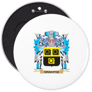 Ambrose Coat Of Arms Pinback Buttons
