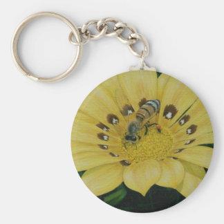 Ambrosia Basic Round Button Keychain