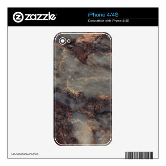 Ambrosia Decorative Stone - Stunning Vivid Color Decals For The iPhone 4