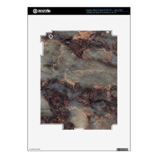 Ambrosia Decorative Stone - Stunning Vivid Color Skin For iPad 3