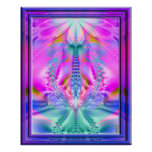 Ambrosia Rising Variation 4  Art Print
