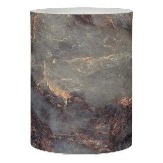 Ambrosia Stone Pattern Background  - Stunning! Flameless Candle