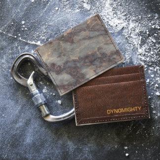 Ambrosia Stone Pattern Background  - Stunning! Tyvek® Card Wallet