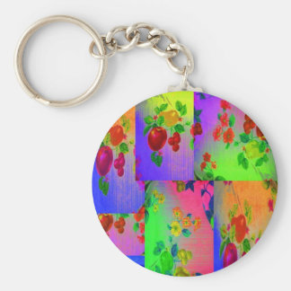 Ambrosia with Gum Drops Basic Round Button Keychain