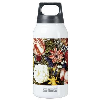 Ambrosius Bosschaert Bouquet Of Flowers Insulated Water Bottle