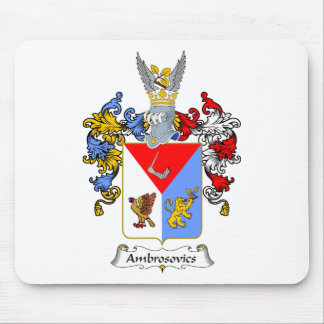 Ambrosovics Family Hungarian Coat of Arms Mouse Pad