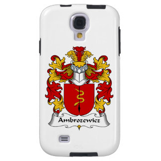 Ambrozewicz Family Crest Galaxy S4 Case