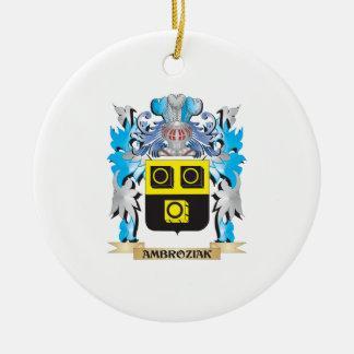 Ambroziak Coat Of Arms Christmas Ornament