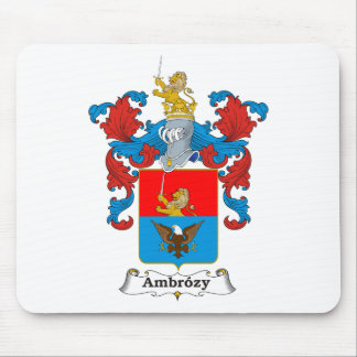 Ambrozy Family Hungarian Coat of Arms Mouse Pad