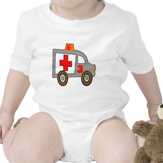 Ambulance 3rd Birthday Gifts Bodysuits
