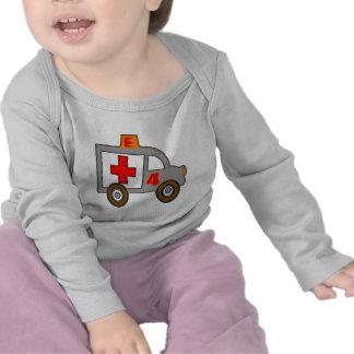 Ambulance 4th Birthday Gifts Shirts