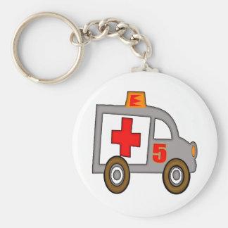 Ambulance 5th Birthday Gifts Keychain