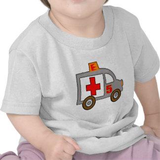 Ambulance 5th Birthday Gifts Tee Shirt