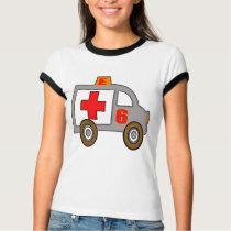 Ambulance 6th Birthday Gifts T-Shirt