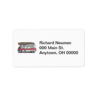 Ambulance Address Label