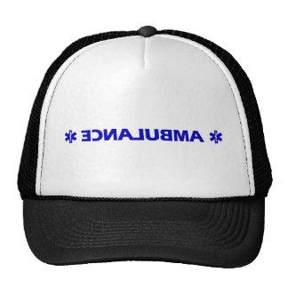 Ambulance (backward) trucker hat