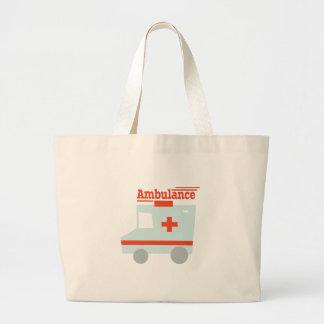Ambulance Jumbo Tote Bag