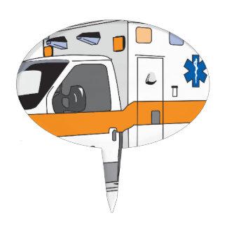Ambulance Cake Topper