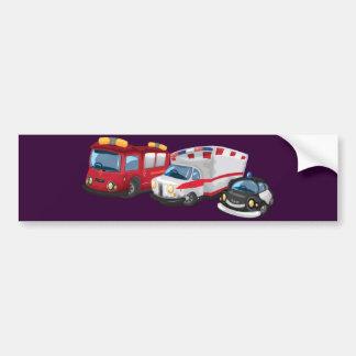 Ambulance Car Bumper Sticker