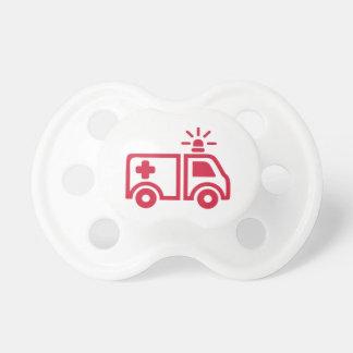 Ambulance car pacifiers