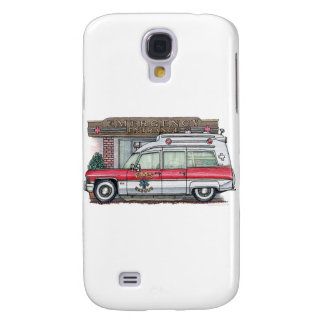 Ambulance Cover Galaxy S4 Case