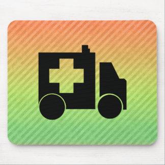 Ambulance Design Mouse Pad