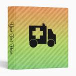 Ambulance Design Vinyl Binder