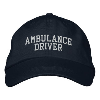 Ambulance Driver Baseball Cap